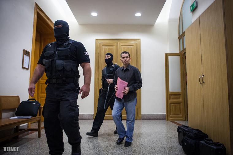 A libanoni férfit vezetőszáron hozták, másfél éve van előzetes letartóztatásban.