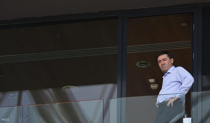 Szima Gábor a DVSC Futballszervező Zrt. elnöke