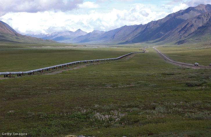 A transz-Alaszka olajvezeték