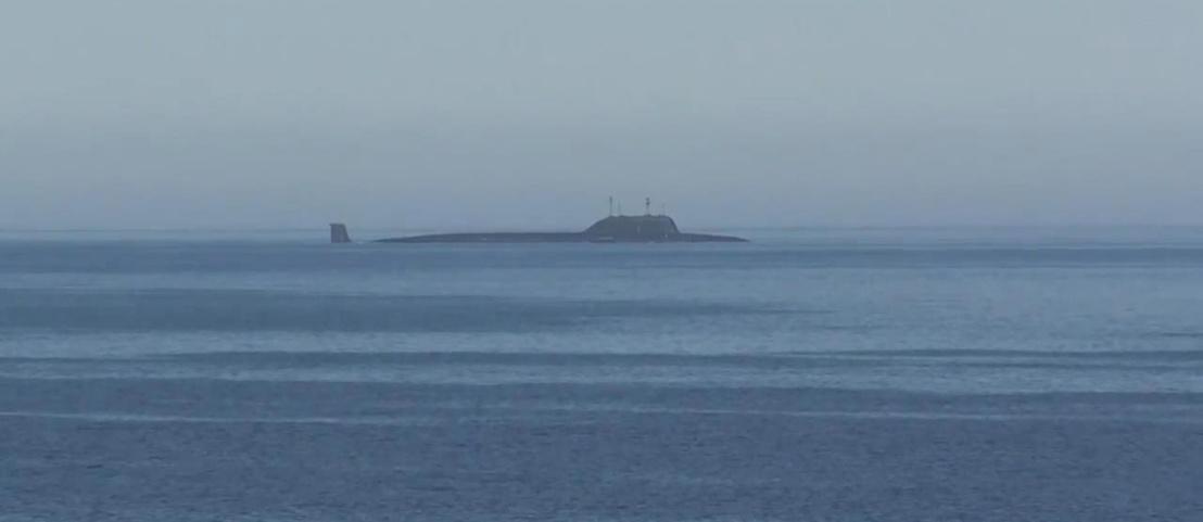 Orosz tengeralattjáró a Barents-tengeren