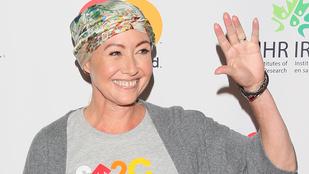 Shannen Doherty jól halad a mellrák elleni küzdelemmel