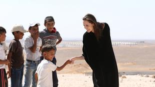 Angelina Jolie-t pár év múlva simán szentté avatják