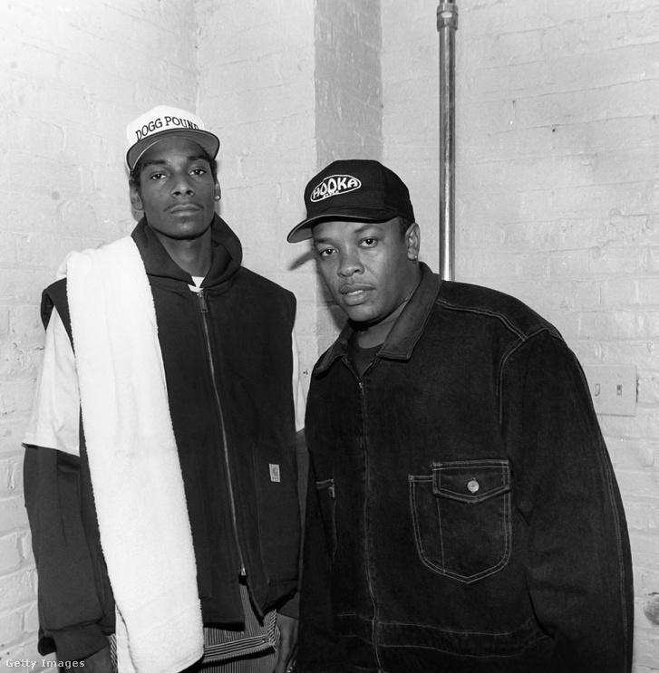 Snoop Dogg és Dr. Dre.