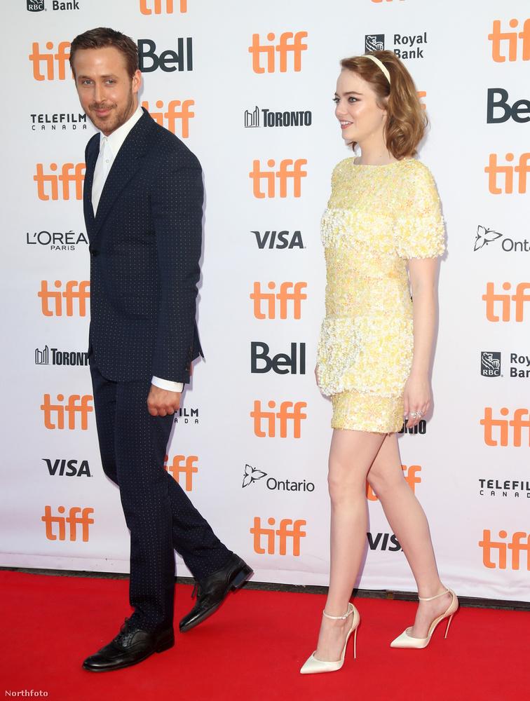 A színész csak a La La Land bemutatójára ugrott át a Torontói Nemzetközi Filmfesztiválra.