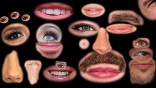 Apró arcrészletekből is simán felismeri a celebeket?