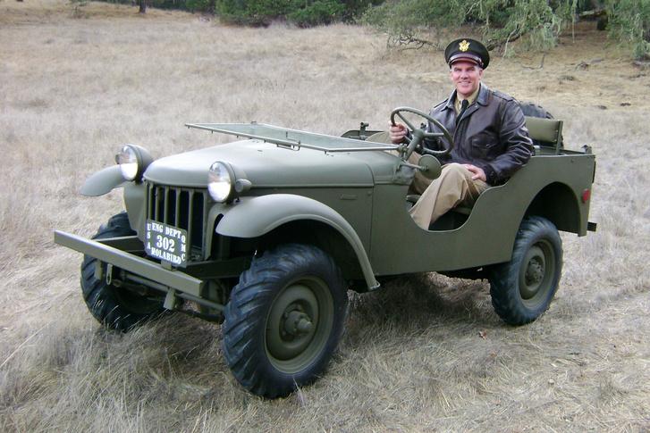 Egy Bantam Jeep