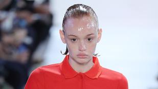 Nem véletlenül ázott a New York-i modellek feje vazelinban