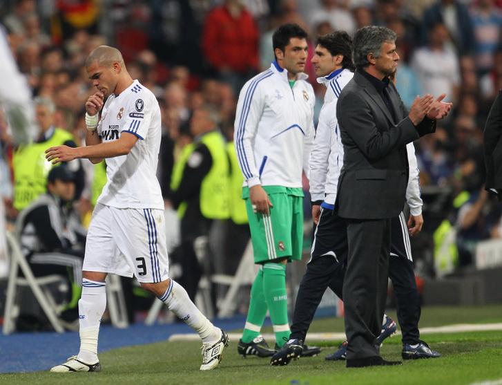 Pepe és Mourinho
