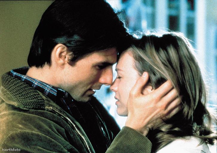 Tom Cruise és rené Zellweger a Jerry Maguire-ben