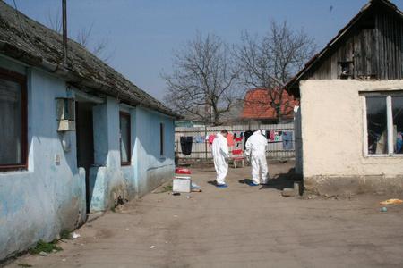 A késelés helyszíne (Fotó: police.hu)