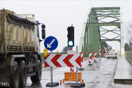 Tavaly márciusban le kellett zárni a hidat, mert megrepedt a fő tartóeleme
