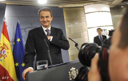 Zapatero az EU soros elnökségét adó  Spanyolország miniszterelnöke