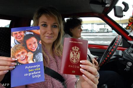 Szerb család vízummentes beutazása Horgosnál