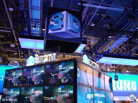 A Samsung az egyik vezető 3D-tévé-gyártó