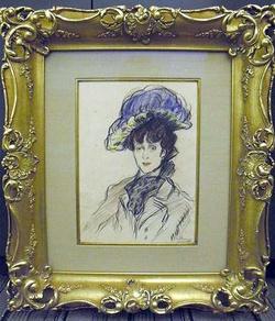 """""""A nő kék kalapban"""" hamisnak bizonyult"""
