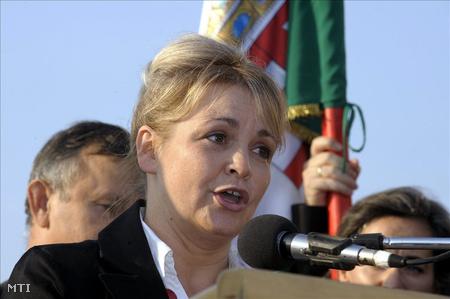 Seres Mária, a Civil Mozgalom (CM) vezetője