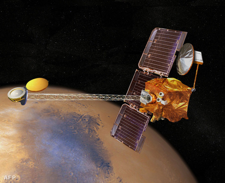 Mars Odyssey grafika