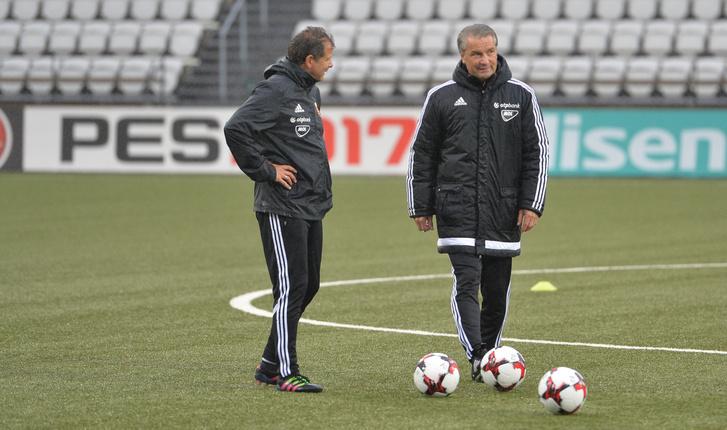 Bernd Storck és világbajnok segítője, Andy Möller