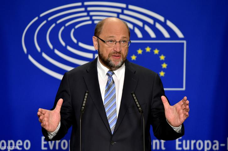 Martin Schulz, az Európai Parlament elnök