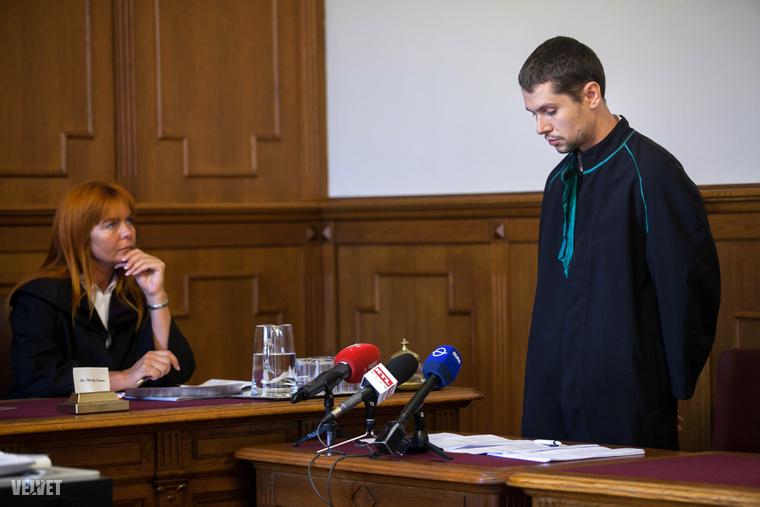 A védőügyvéd Dr. Csereklye Károly Zoltán az ítélet enyhítése érdekében szólalt fel.