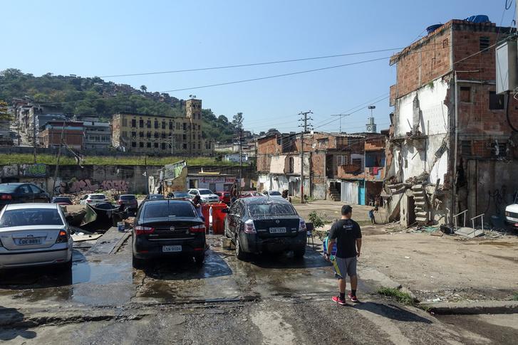 Egy még profibb autómosó a Maracana környékén