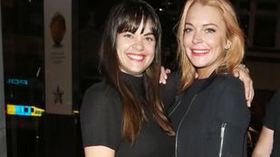 Lindsay Lohan bulizva próbálja kiheverni viharos szakítását
