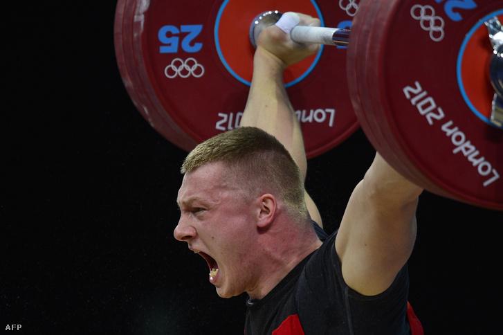 Tomasz Zielinski a londoni olimpián