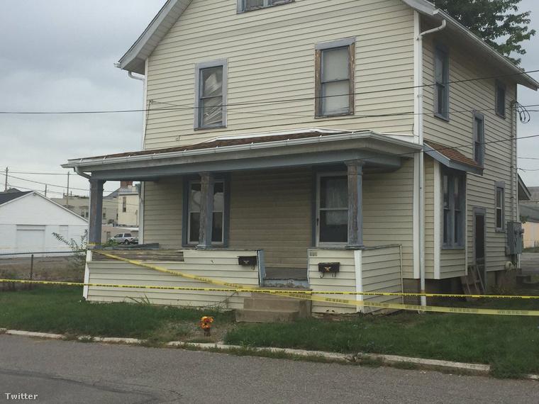 Ebben a házban találták meg áldozatait
