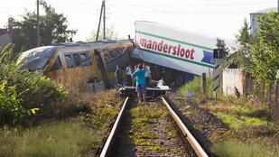 Durva vonatbaleset történt a szlovák-magyar határnál