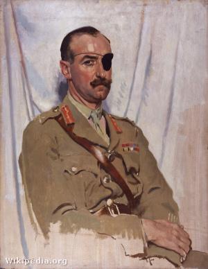 Sir Adrian Carton de Wiart by Sir William Orpen