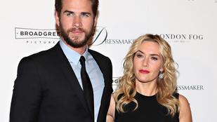 Liam Hemsworth Kate Winsletnek is elég jól áll