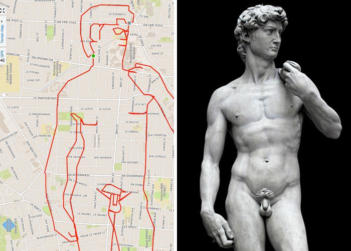 Michelangelo Dávid-szobra