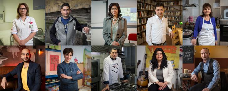 A Roma Sajtóközpont 2016-os Aranypánt díjának jelöltjei