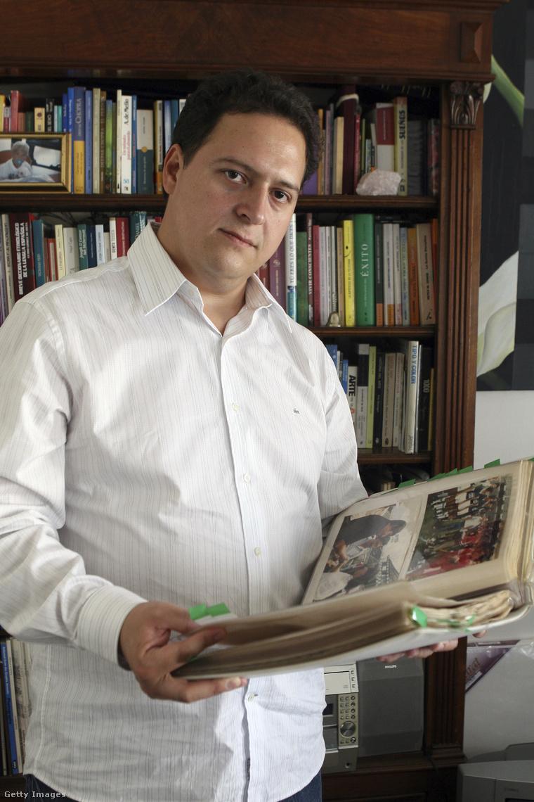 Sebastian Marroquin már Argentínában él, ahol íróként és építészként keresi kenyerét