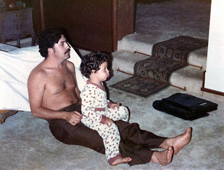 Sebastian Marroquin és Pablo Escobar