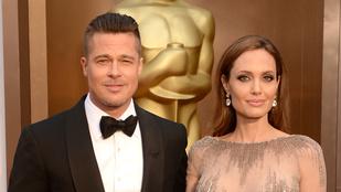 Brad Pitt és Angelina Jolie válnak