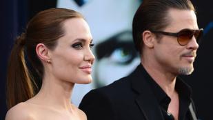 Brad Pitt csak tegnap tudta meg, hogy Angelina Jolie válni akar