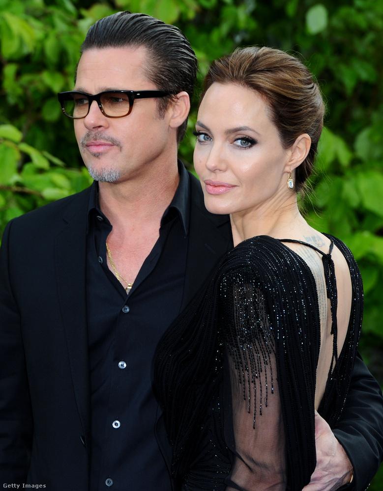 Ez volt a finomabb verzió, a részletesebb alapján Brad Pittnek drog- és alkoholproblémái vannak, agresszív, a felesége pedig nem volt hajlandó tovább együtt élni vele