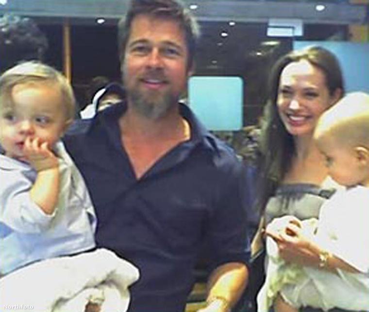 2008.Májusban megszületett az ikerpárjuk, Knox és Vivienne Jolie-Pitt