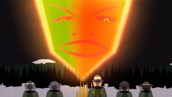 Így néz ki Mózes a South Park világában.