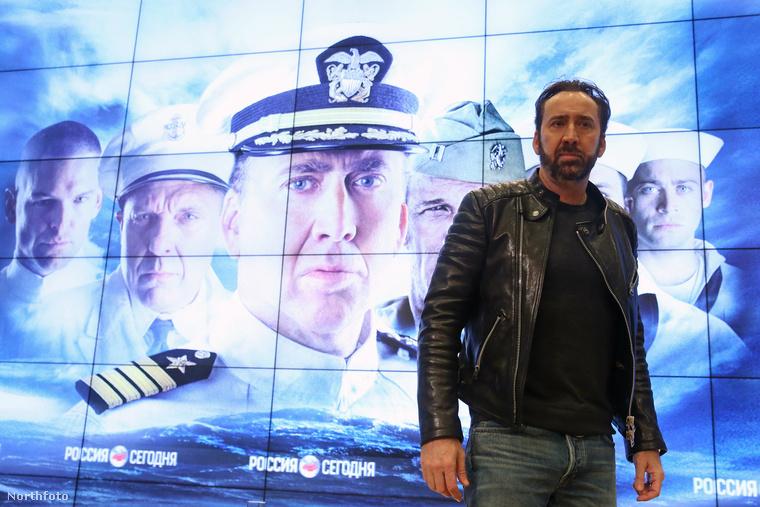 Nicolas Cage Moszkvában mutatta be új, USS Indianapolis: Men of Courage című filmjét, illetve új szakállát.