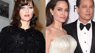 Marion Cotillard bejelentette, hogy terhes, és reagált a Brad Pitt-es pletykákra