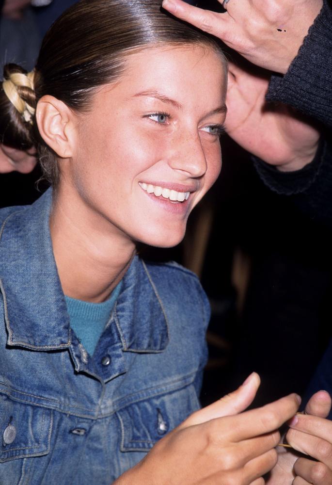 2009-ben ment férjhez az amerikaifocista Tom Bradyhez