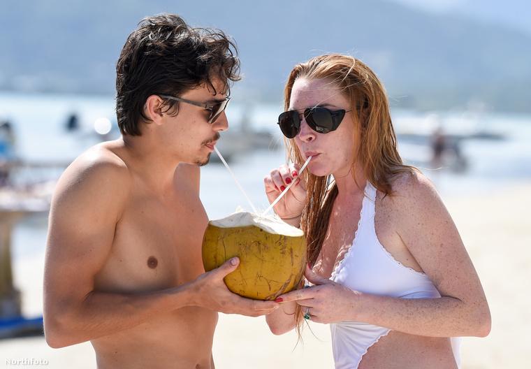 Lindsay Lohan és Egor Tarabasov