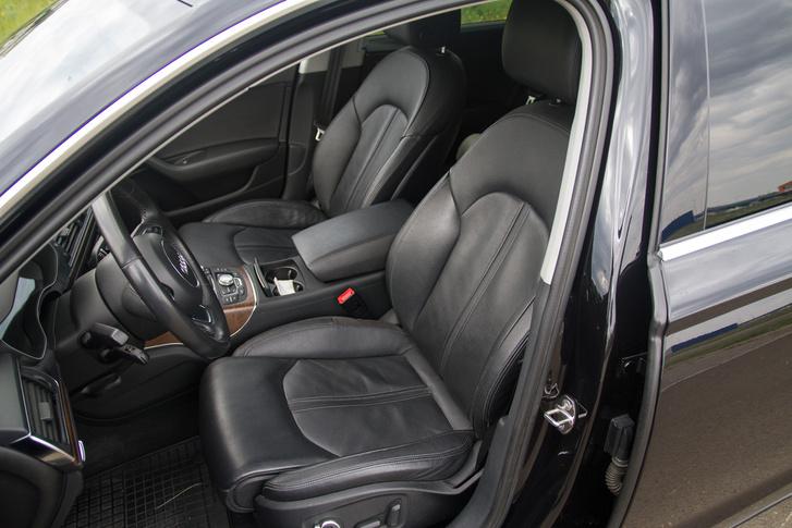 Kényelmes, de kisebb ülések az új Audiban