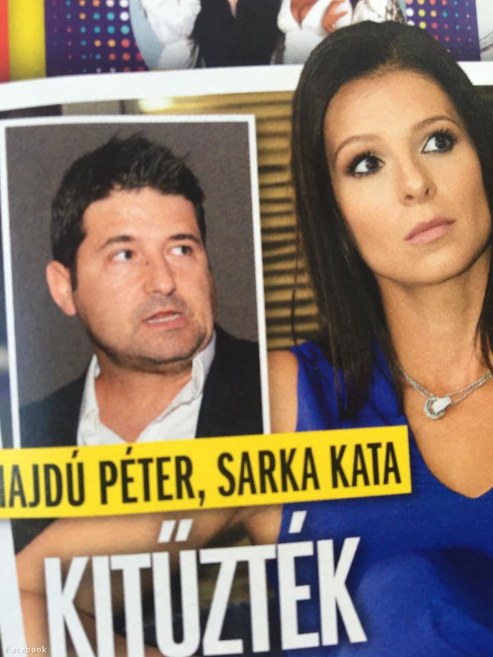 Hajdú Péter pedig nem örült, mikor meglátta ezt a Story magazin címlapján