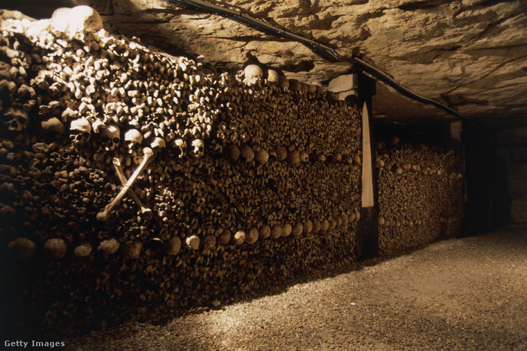 Emberi koponyák az alagutakban