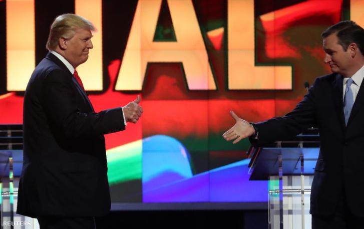 Trump és Cruz