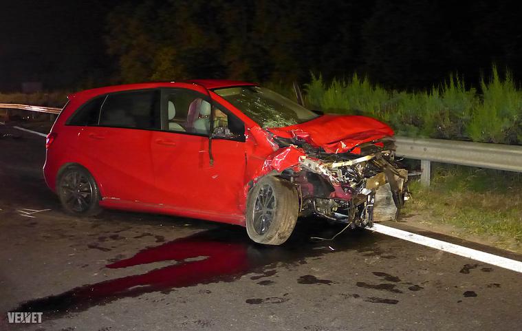 Egyelőre nem tudni, miért történt a baleset.