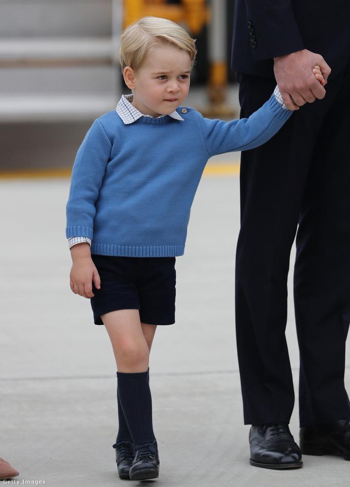 A hercegről tudni lehet, hogy egy sima norfolki óvodába jár, a családi otthon közelében.